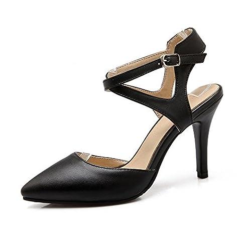 Adee , Sandales pour femme - Noir - noir, 36