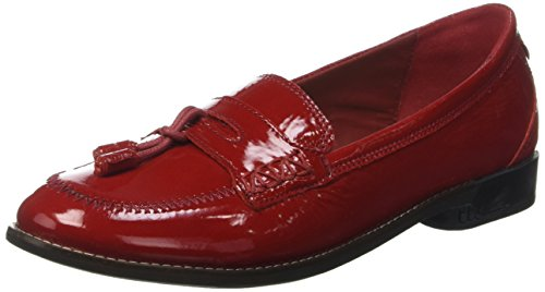TBS TechnisyntheseMagdah - Mocassini Donna , Rosso (Rouge (Rubis)), 39
