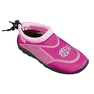 BECO Kinder Sealife Surfschuhe, Strandschuhe, Wattschuhe Surf und Badeschuhe, Pink, 30/31