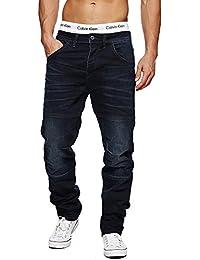 !Solid Homme Jeans Regular Fit Jeans Pantalons Straight Fit Jeans Pants Straight Fit Used Vintage Noir Bleu