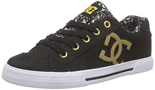 DC ShoesCHELSEA X TR J Shoe - Scarpe da Ginnastica Basse Donna, Nero (Schwarz (BPT)), 37