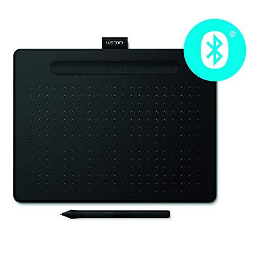 Wacom Nouvelle Intuos M - Tablette graphique à stylet, compatible avec Mac et Windows - Nombreuses fonctionnalités de dessin - 10 pouces - No
