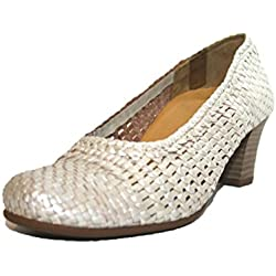 Theresia Muck by Naot Sarah M60114-555 Damen Pumps, Weite H (37.5, Beige (beige 400))