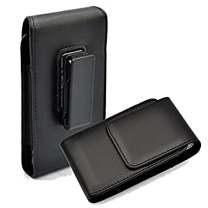 Kingsource (TM) Samsung Galaxy S6/S6 Edge pouch--Vertical Leather Case Holster with Rotating Belt Clip for Samsung Galaxy S6/S6 Edge (Samsung Galaxy S6/S6 Edge)