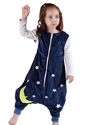 Schlafen Tasche Zum Baby Ärmellos mit Füße Star Tier Entwurf (Ärmellos Entwurf)