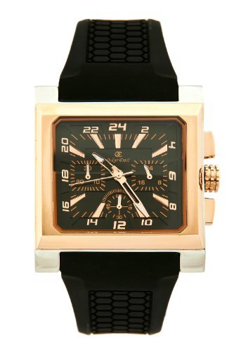 Oskar Emil Ontario Gents Rose Gold IP Plated Chronograph Watch