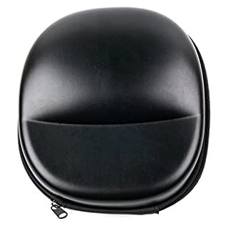 DURAGADGET Hard Shell EVA Headphone Pouch Case (Matte Black) - Compatible with Mpow Kids Headphones PAMPBH178AL-USAA1-PTX