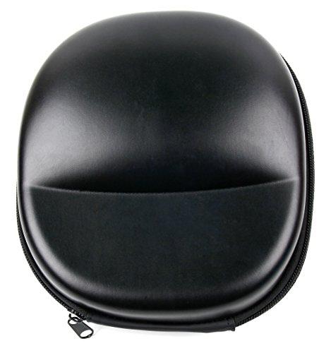 DURAGADGET Funda/carcasa rígida para auriculares Dylan QS1/Easars Sparkle/Fetta Studio 5819658/JBL T450/JBL T450BT/JVC XX Color negro.