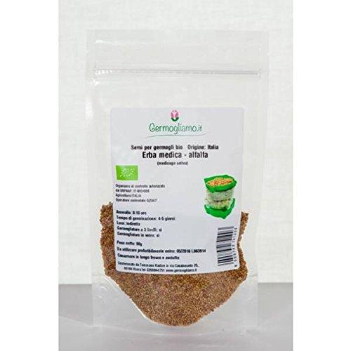 Germogliamo - semi per germogli Bio - Erba Medica