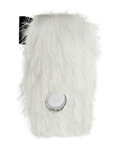 I-doll MOUMOUTE leatherskin pour iPod shuffle, Blanc