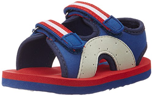 Bubblegummers Girl's Ben Blue/Red/White Espadrille Flats - 3 UK/India (36 EU) (19035)  available at amazon for Rs.119
