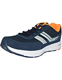 Campus Mens Blue Orange Colour 3G8213 Series Synthetic And Nylon Mesh Sport Shoes