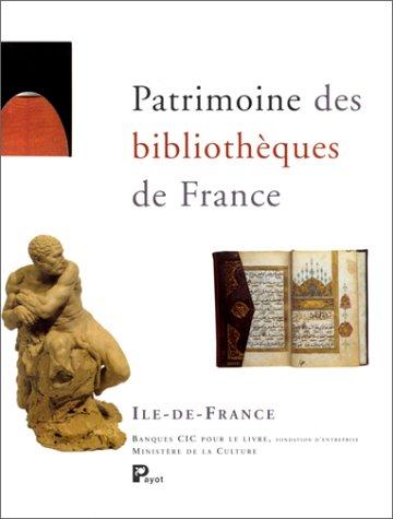 Patrimoine des bibliothèques de France, 10 volumes + index général