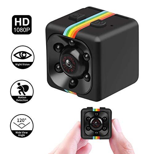 Mini Kamera 1080P SQ11 HD Camcorder DV-Recorder Nachtsicht Sport DV Kamera Video Recorder Infrarot Auto DVR Kamera Bewegungserkennung (Mini-sport-kamera)