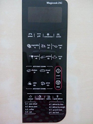 Microwave Oven Membrane Keypad ABLE Model No : MAGICOOK25C