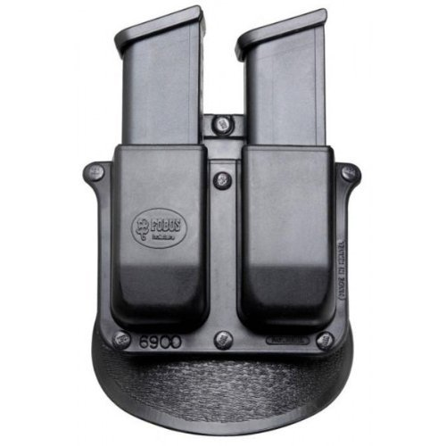 Fobus Roto Paddle 6900RPMP Double Mag Pouch S&W M&P 9mm/.40 cal by Fobus -