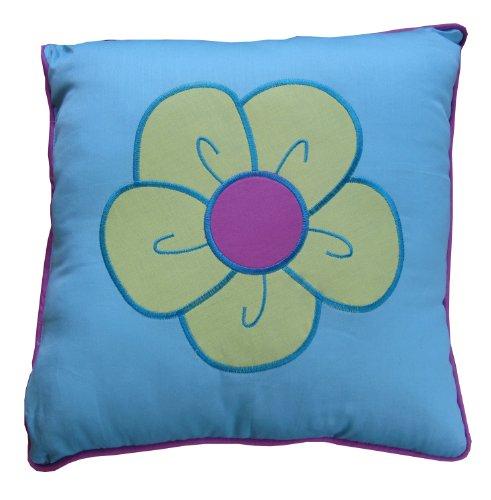 16in Dekorative Kissen (Texstyle Instyle Janna Flower 16-inch-by-16-inch-by-12-inch Dekoratives Kissen)