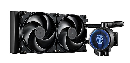 Cooler Master MasterLiquid Pro 280 Procesador – Refrigeración (14 cm, 2,5 cm, 6,8 cm, 9,48 cm, 5,69 cm, Aluminio)