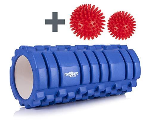 Maximo Fitness - Rodillo de espuma con diseño Trigger Point con 2...