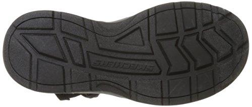 Carbone Skechers Lo Sport Mens Sandalo Pescatore Nero Regolabile Esterno TPSgAwq