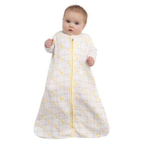Halo-Schlafsack-Baby kaufen schlafsack kaufen für baby Schlafsack für Baby´s kaufen – Wohnmantel 100% Baumwolle von Halo – Schlafsack fürs Baby kaufen von 6 – 12 Monaten – Mit Gelben Giraffen 41VMQ349LgL