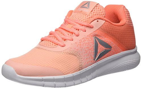 Reebok Instalite Run, Zapatillas de Running Para Mujer, Naranja (Peach Twist/Sour Melon/White/Silver), 39 EU
