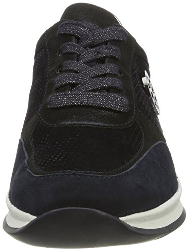 Ara Montreal, Sneaker Donna Blau (Midnight,blau/silber)
