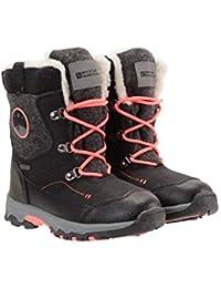 Mountain Warehouse Botas de Nieve Heavenly para niños - Resistentes a la Nieve, Forro Isotherm, Tejido Superior Duradero y Plantilla EVA - para Senderismo y esquí