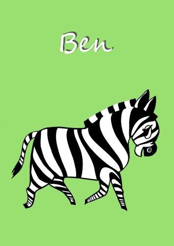 Preisvergleich Produktbild Malbuch / Notizbuch / Tagebuch - Ben: DIN A4 - blanko
