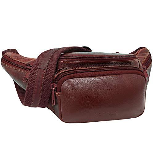 79dadabfca Caratteristiche ed informazioni su royalz marsupio in vera pelle vintage da  uomo borsa da cintura borsello per festival ...