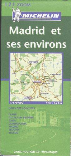 Madrid ET Ses Environs (KAARTEN/CARTES MICHELIN)