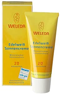 weleda 9886 sonnencreme edelwei lsf 20 50ml beauty. Black Bedroom Furniture Sets. Home Design Ideas