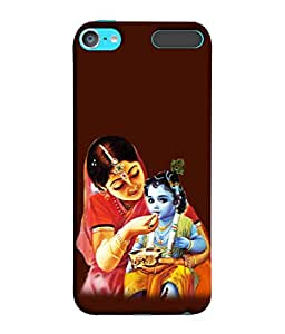 PrintVisa Designer Back Case Cover for Apple iPod Touch 6 :: Apple iPod 6 (6th Generation) (Kanha And Yashodha Design)