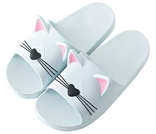 Jungen Mädchen Badelatschen Sommer Flache Hausschuhe Kinder Pantoletten Dusch-& Badeschuhe Herren Damen rutschfeste Sandalen Leicht Pantoffeln Plastikschuhe