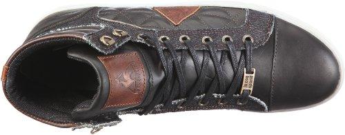 Le coq Sportif ORLEANS MID 01040590.1ZV, Sneaker uomo Nero (Schwarz/black/ after dark)