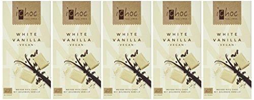 Vivani White Vanilla-Rice Choc, 5er Pack (5 x 80 g) - 2