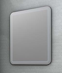 Specchiera specchio da bagno a led in diverse misure da 90x60 casa e cucina - Specchiera bagno amazon ...