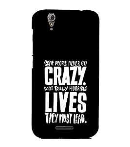 EPICCASE Do crazy Mobile Back Case Cover For Acer Liquid Z630 (Designer Case)