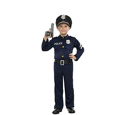 Imagen de disfraz de policía para niño