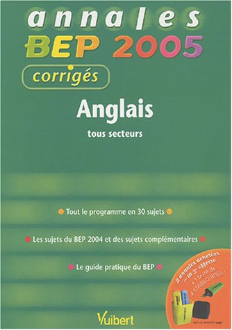 Anglais tertiaires BEP/CAP 2005