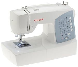 SINGER 7422 - Máquina de coser (Azul, Blanco) de SINGER