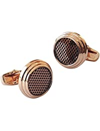 TiedRibbons® Golden Round Cufflinks Gift | Cufflinks Set | Men's Cufflinks Gift Set | Designer Cufflinks | Wedding...