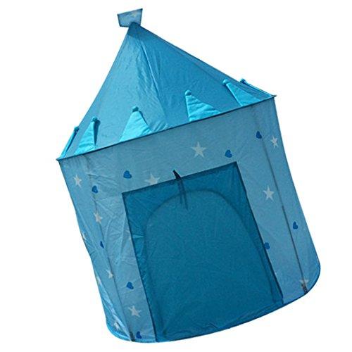 Sharplace Kinder Spielzelt kinderzelt Spielhaus Zelt, Tragbare & Faltbar, Best Geburtstagsgeschenk für Kinder, 105 x 135cm, Blau