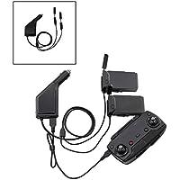 siyangmy Carga de control remoto del puerto USB de carga de la batería del cargador del coche 3in1 para accesorios DJI mavic air Drone