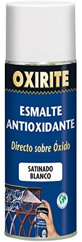 Xylazel - Metal enamel oxirite satin spray 400ml white