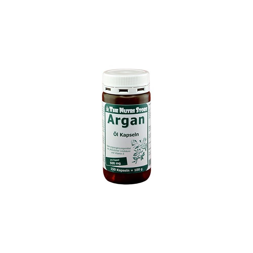 Arganl 500 Mg Pro Kapsel 150 Stk Mit Pflanzlicher Linolsure Und Vitamin E