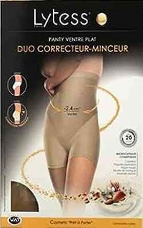 Panty duo correcteur minceur lytess - Chair - T44/48