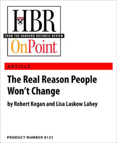 Why Won't People Accept Change?