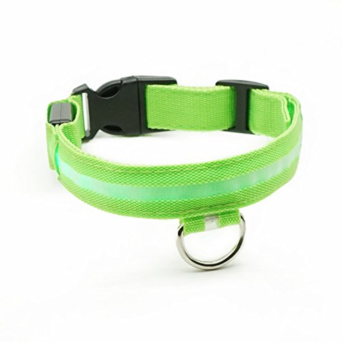 safety-collars-for-dogs-poketech-battery-operated-glowing-pet-collar-m-length-335cm-425cmgree