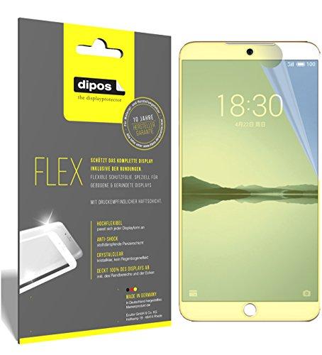 dipos I 3X Schutzfolie 100prozent passend für Meizu 15 Folie (Vollständige Bildschirmabdeckung) Bildschirmschutzfolie
